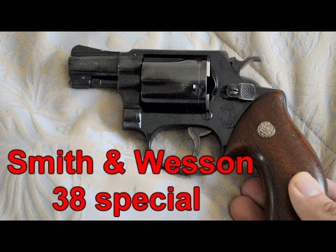 Smith & Wesson 38 special revolver - YouTube
