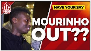 """MOURINHO IS The PROBLEM!"" Manchester Untied vs Sevilla 1-2 FANCAM"