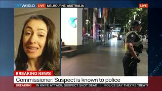Police treating incident as terror-related