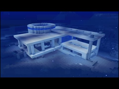 How to make an Underwater Minecraft Modern House