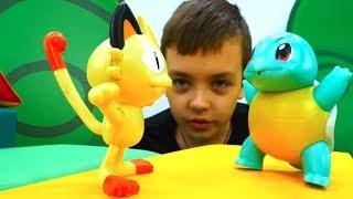 Кто самый сильный на Арене Покемонов? Видео с игрушками для мальчиков.