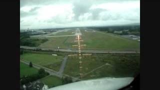 Take off NIZZA RWY 04  R and Landing at OSLO RWY 01 R in rainy weather B737-700 PPMusti