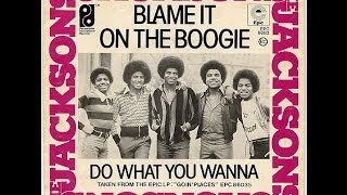 Blame it on the boogie - The Jacksons [karaoke]