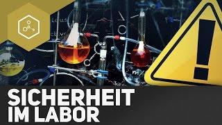 Ab ins Labor -  HALT STOPP!