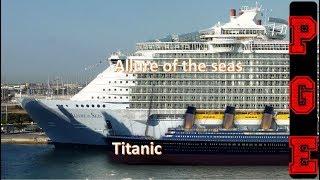 Los 10 mejores y mas grandes cruceros del mundo