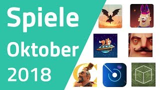 Top Spiele für Android & iOS - Oktober 2018