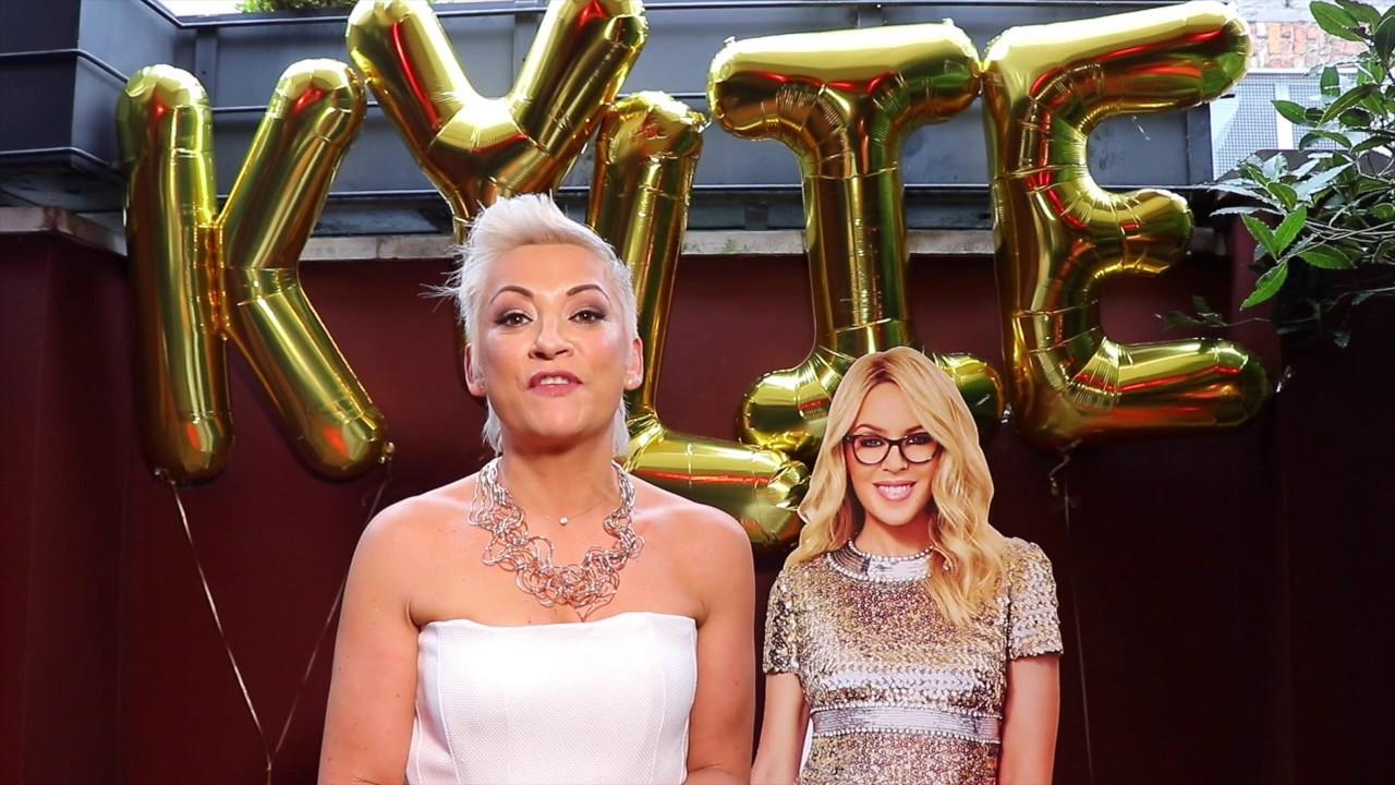 b9d7a1497d Specsavers Kylie Minogue Eyewear launch at The Cornstore - YouTube