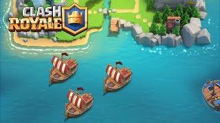 皇室戰爭 (Clash Royale):  部落战要来了!让我们荡起双桨, 让船儿战死他乡, 部落 検索動画 10