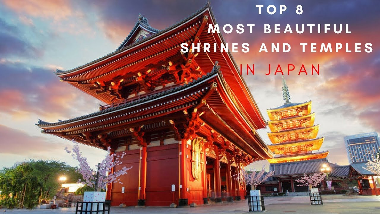 Top 9 Most Beautiful Shrines And Temples In Japan - Youtube