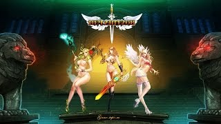 Браузерная игра Меч Ангелов Sword of Angels Gameplay