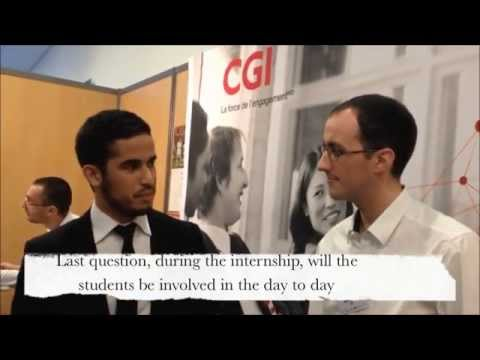 How to find an internship in France ? Answer with Mathieu Brunot, Campus Manager at CGI