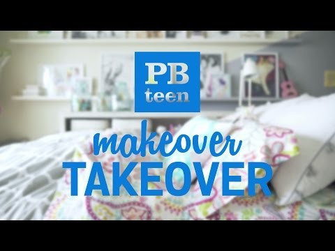 Bedroom Makeover with PBteen | Eva