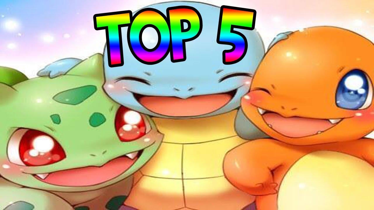 TOP 5 POKEMON KAWAII