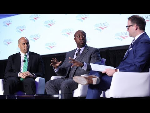Senators Tim Scott and Cory Booker Discuss Opportunity Zones Before Nation's Counties