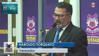 Haroldo Torquato   Pronunciamento  03 12 2019