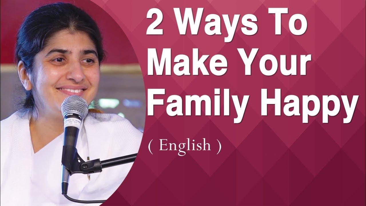 2 Ways To Make Your Family Happy: BK Shivani at Anubhuti Retreat Center,  California