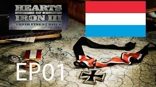 Let's Play Hearts of Iron III TFH Luxembourg - EP01