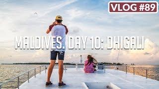 MALDIVES. DAY 10: DHIGALI /// VLOG #89