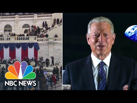 Al Gore Speaks About Biden Inauguration, Presiding Over 2000 Election Vote Certification | NBC News