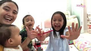 Family Games | Seru banget Zara Cute main Pinball bareng Little Kenzo | Beli mainan anak di Mall