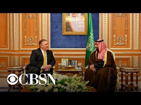 Pompeo presses Saudi crown prince on Khashoggi & Yemen