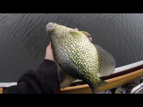 Cold Temps And GIANT Minnesota Crappies!!