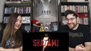 Shazam! - SNEAK PEAK Trailer Reaction / Review