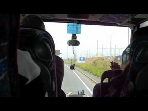 Tour Bus To Pisa, Italy