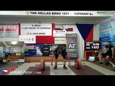 Janák Peter (1988), NH3, 160 kg (x)