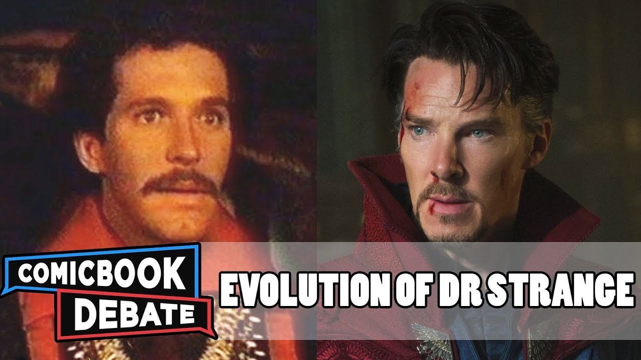 Evolution of Doctor Strange in Movies & TV in 4 Minutes (2018)