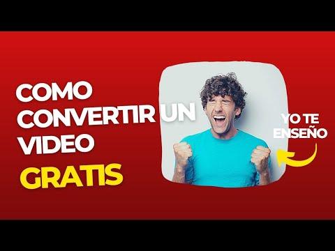 Como convertir video Webm a Mp4 | SOLUCIONADO