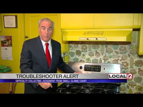 Troubleshooter Alert Difficulty Collecting Judgement From Small Claims Court