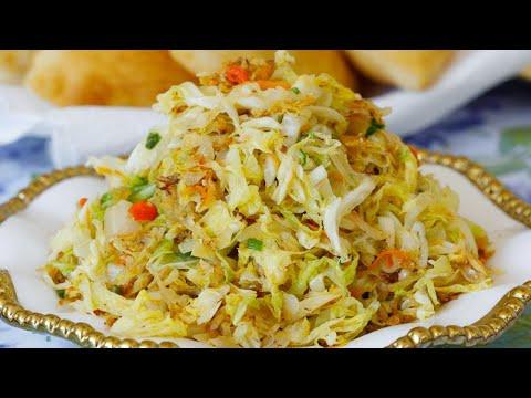 Fried Cabbage | Stir Fry Cabbage | Sunday Breakfast Feast