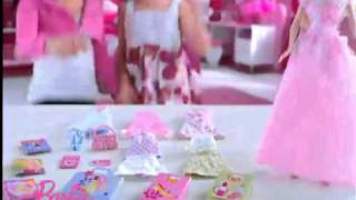 2009 Chinese Barbie Fine Fashion Gift Box Commercial