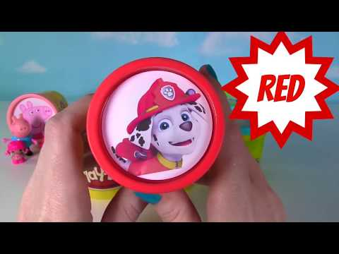 Play Doh  COLORS With Disney Nick Jr  Bubble Guppies, Paw Patrol, Jake & Mickey Mouse