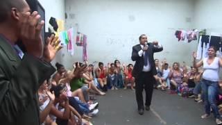 OBRA MISSIONÁRIA NA DELEGACIA DE MULHER. PR; VANDERSON TROVÃO