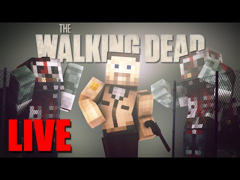 "Minecraft Crafting Dead LIVE! ""Greenfield Supply Run"" # 2 (The Walking Dead Livestream)"