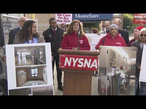 Full Video: Nurses Allege Overcrowding At Montefiore Hospital