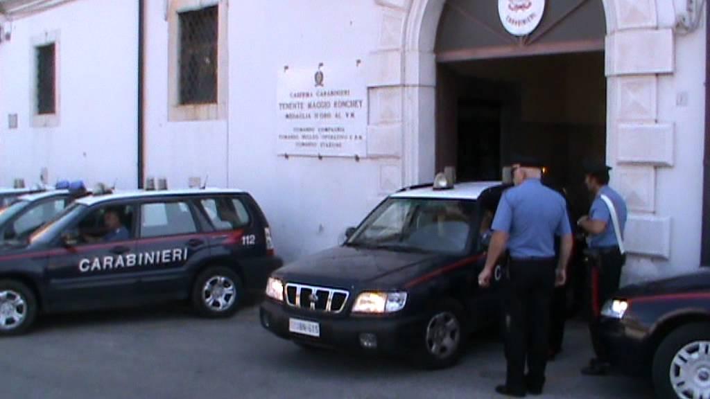 Carabinieri lagonegro doovi for Motosega fissa
