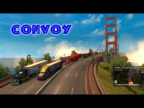 Convoy de Elko, Nevada a San Francisco, California   American Truck Simulator