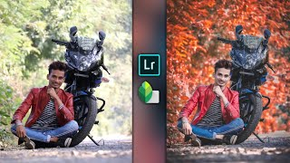 Glossy Red Edition Photo Editing || Lightroom Mobile Editing Tutorial || SK EDITZ
