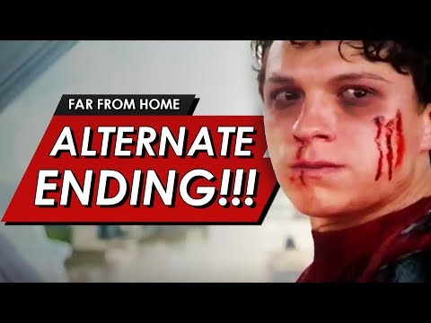 Spider-man: Alternate Ending Explained | Full Breakdown Of The Original Post Credit & Deleted Scenes