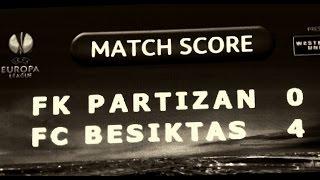 NAVIJAČI PARTIZANA  I Partizan -Besiktas 0:4 23.10.2014