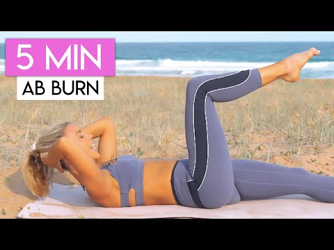 5-minute-lower-abs-workout-👙💕-lose-lower-belly-fat
