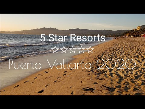 RIU Resort Hotels (5 Star) In Puerto Vallarta Mexico HD January 2020- All Inclusive