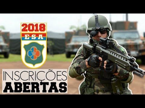 BIZU PRA PASSAR NA ESA / SAIU O EDITAL PARA ESCOLA DE SARGENTOS DO EXÉRCITO - Watch Lopes