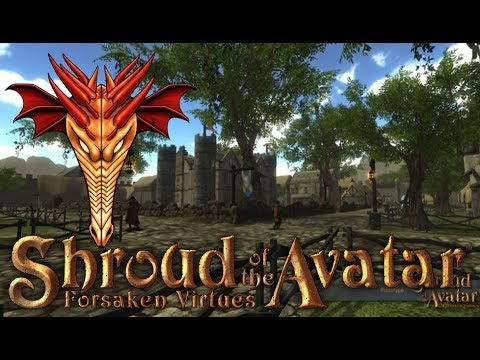 🔴LIVE Shroud of the Avatar Life - Join Us - Presented in 4k