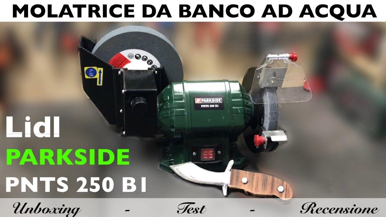 Mola Ad Acqua Prezzo.Molatrice Da Banco Ad Acqua Parkside Lidl Pnts 250 B1