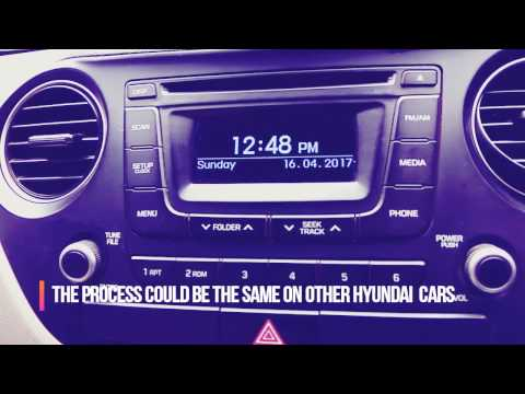 How to delete music files from internal storage of hyundai car