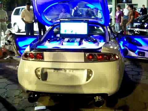 expo tuning 2009 mitsubishi eclipse youtube. Black Bedroom Furniture Sets. Home Design Ideas
